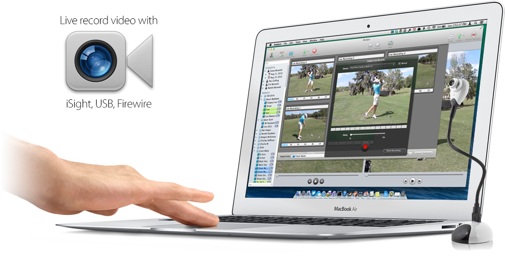 Analyzr - Golf Video Analysis Software for Mac OS X